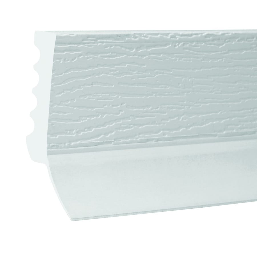 Royal Mouldings Limited 1.875-in x 16-ft Interior/Exterior Prefinished PVC Baseboard Moulding