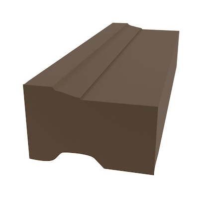 Royal Mouldings Limited 2 In X 10 Ft Exterior Pvc Brick