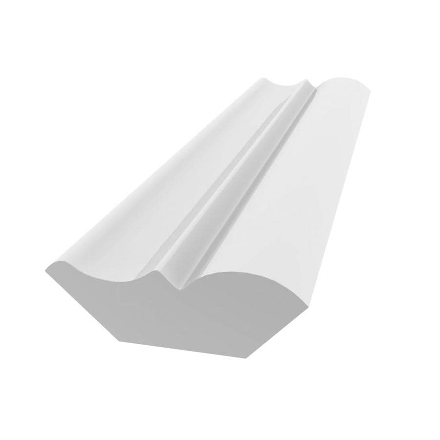 Royal Mouldings Limited 1.5625-in x 12-ft Painted PVC Bed Moulding