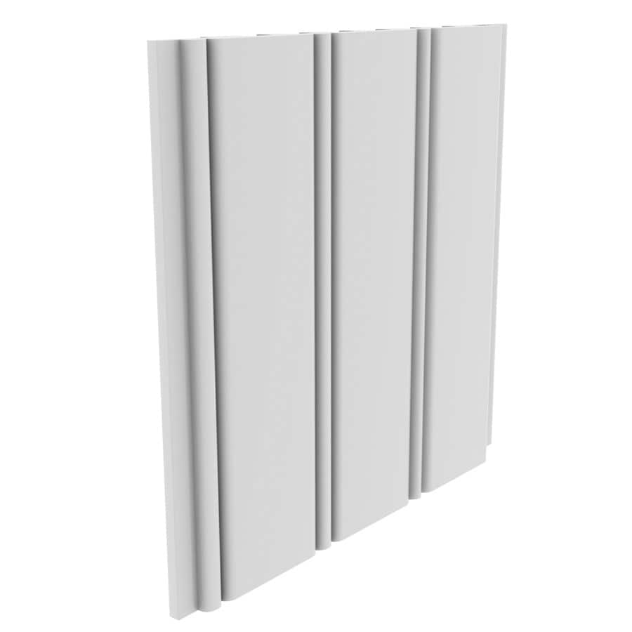 Royal Mouldings Limited 5.4687-in x 8-ft White PVC Wall Plank