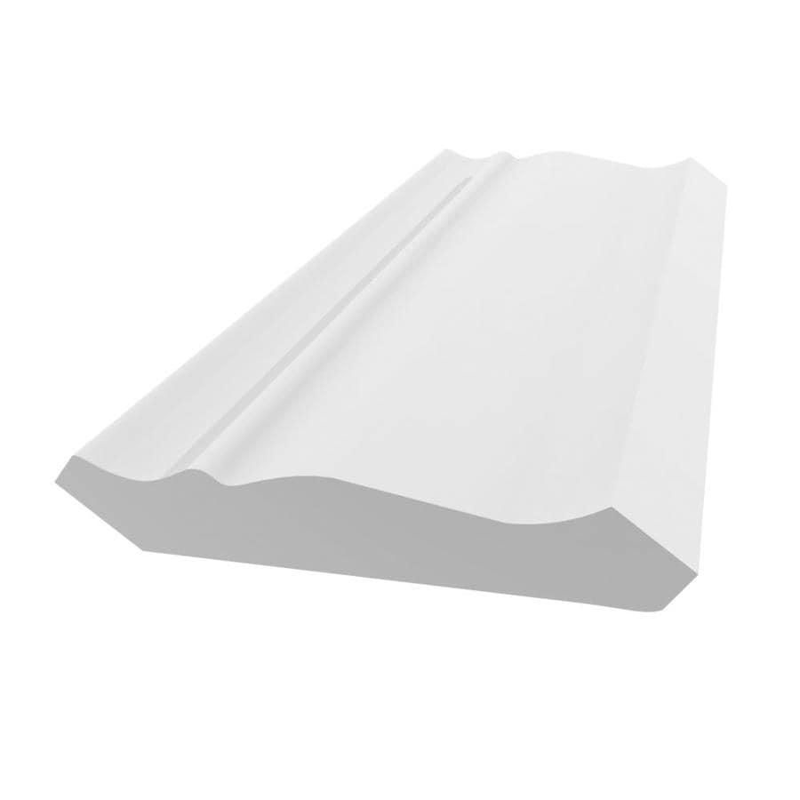 Royal Mouldings Limited 3.625-in x 12-ft Painted PVC Crown Moulding