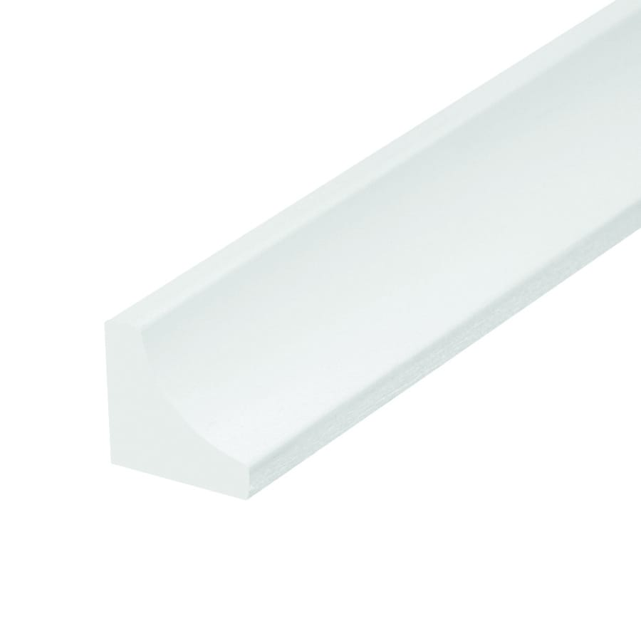 EverTrue 0.75-in x 96-in Vinyl Tapered Cove Moulding