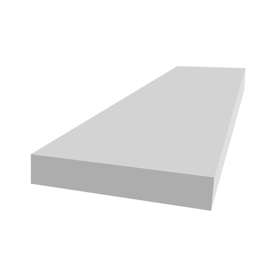 Royal Mouldings Limited PVC Board (Actual: 0.75-in x 9.25-in x 8-ft)