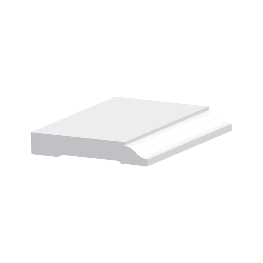 3 25 In X8 0 Ft Interior Exterior Pvc Baseboard At Lowes Com