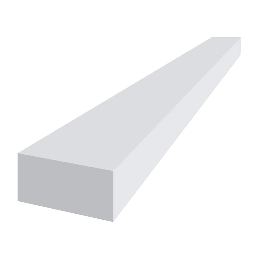 Royal Mouldings Limited (Actual: 0.75-in x 1.5-in x 8-ft) PVC Board