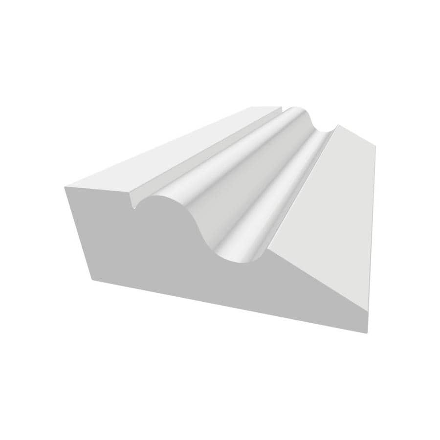 Royal Mouldings Limited 1.719-in x 8-ft Painted Vinyl Lip Wall Panel Moulding