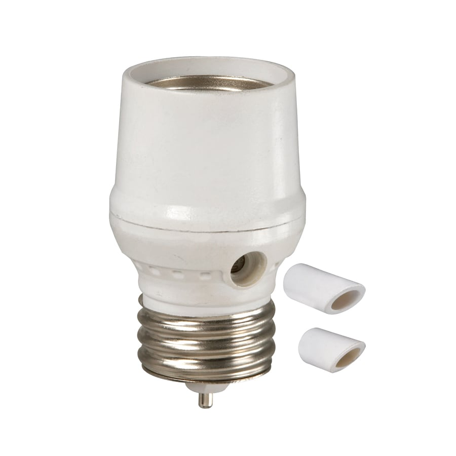 Utilitech Outdoor Indoor Dusk To Dawn Light Control For Cfl Led Bulbs White