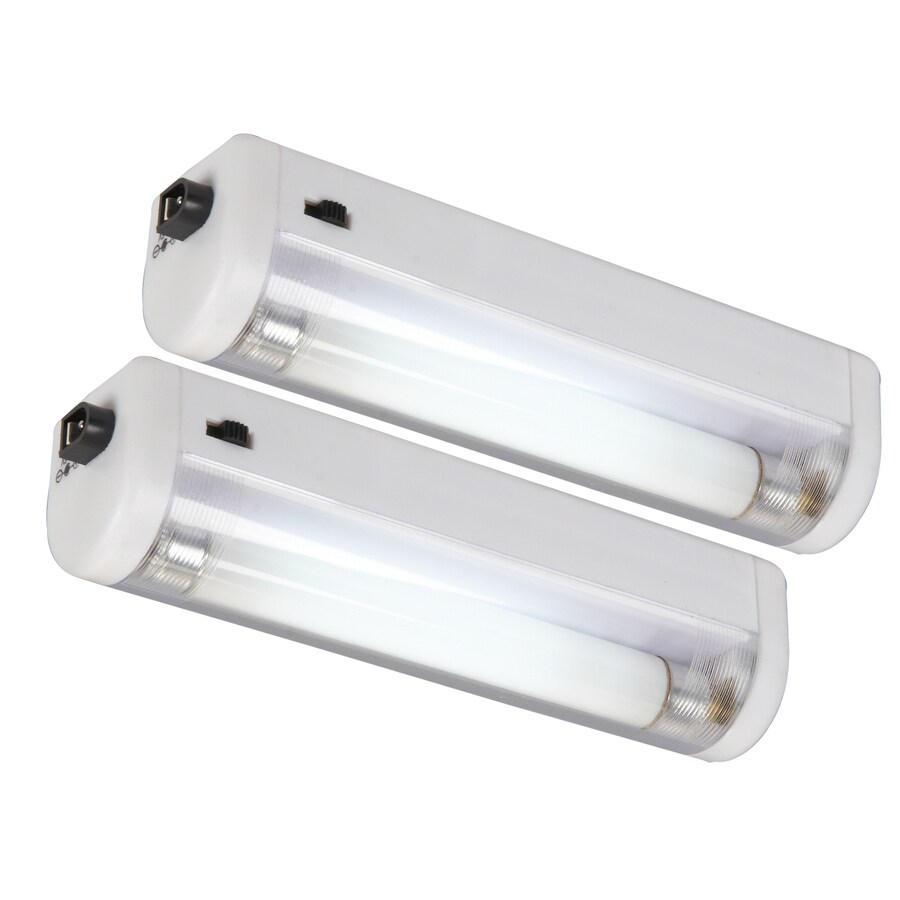 AmerTac 2-Pack White Fluorescent Night Light