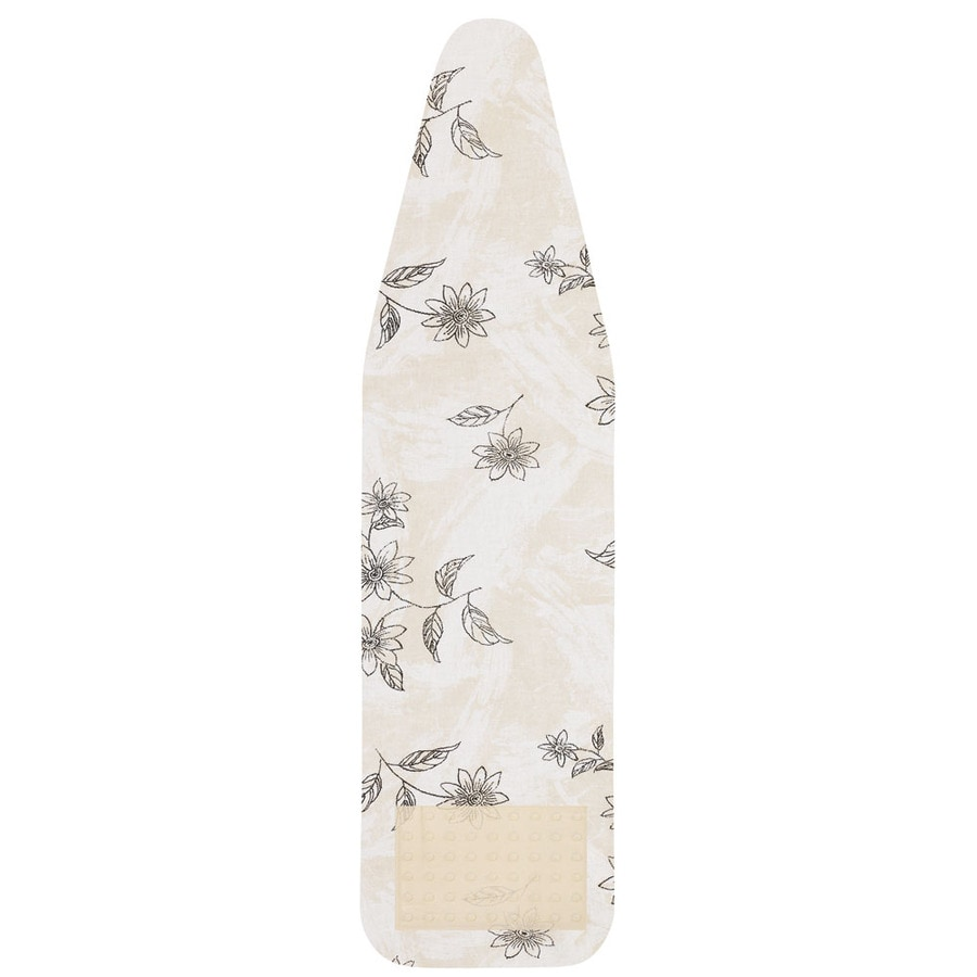 Household Essentials Ultra Brushed Floral Ironing Board Cover