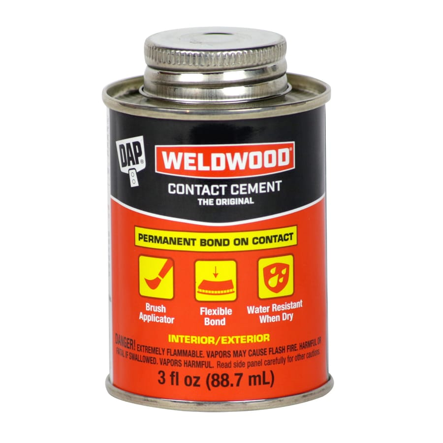 DAP Weldwood Off-White Interior/Exterior Contact Cement Construction Adhesive (Actual Net Contents: 3-fl oz)