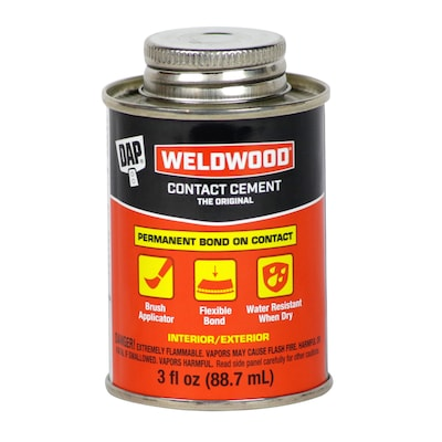 DAP Weldwood 3-fl oz Bonding Off-White Multipurpose Adhesive