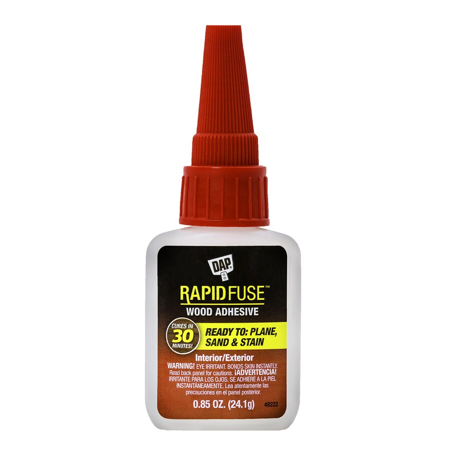 DAP Rapidfuse Clear Interior/Exterior Wood Adhesive (Actual Net Contents: 0.85-fl oz)
