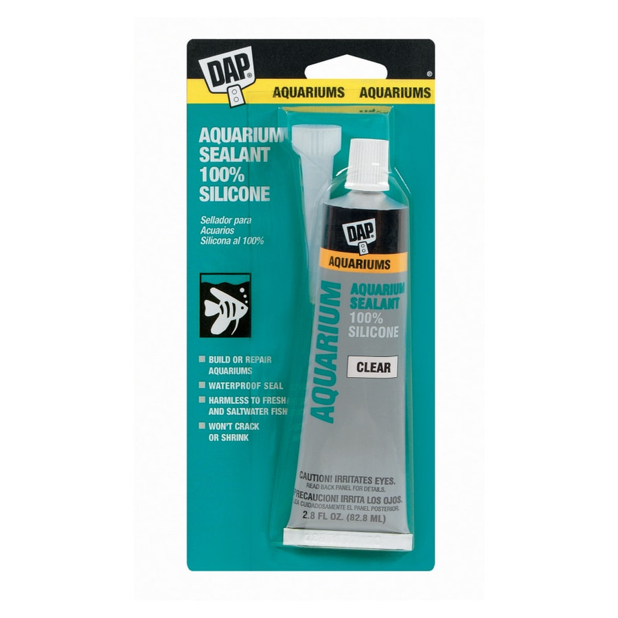 DAP 2.8-oz Clear Silicone Specialty Caulk