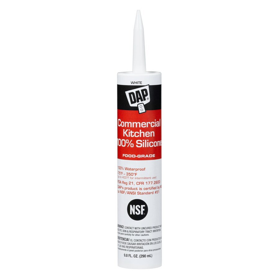 Dap Commercial Kitchen Food Grade Silicone Sealant