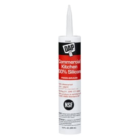 Dap Commercial Kitchen   Oz Clear Silicone Specialty Caulk