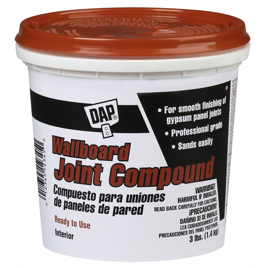 DAP 3-lb Premixed Finishing Drywall Joint Compound