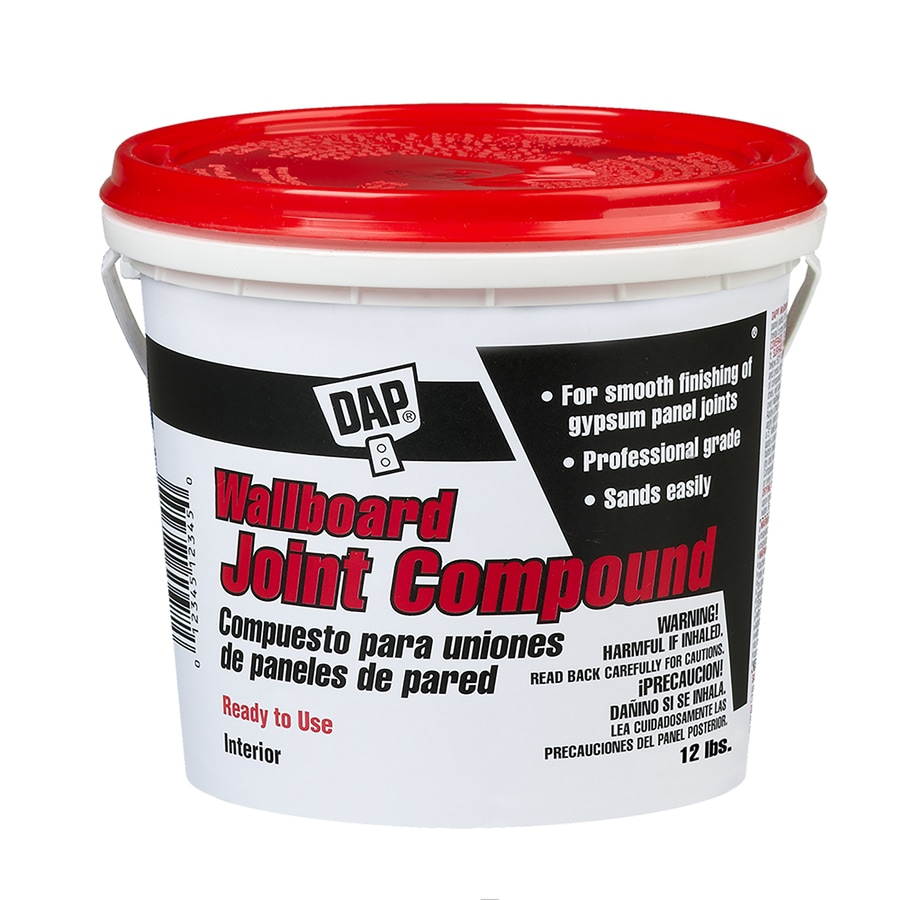 Dap 12 Lb Premixed Finishing Drywall Joint Compound
