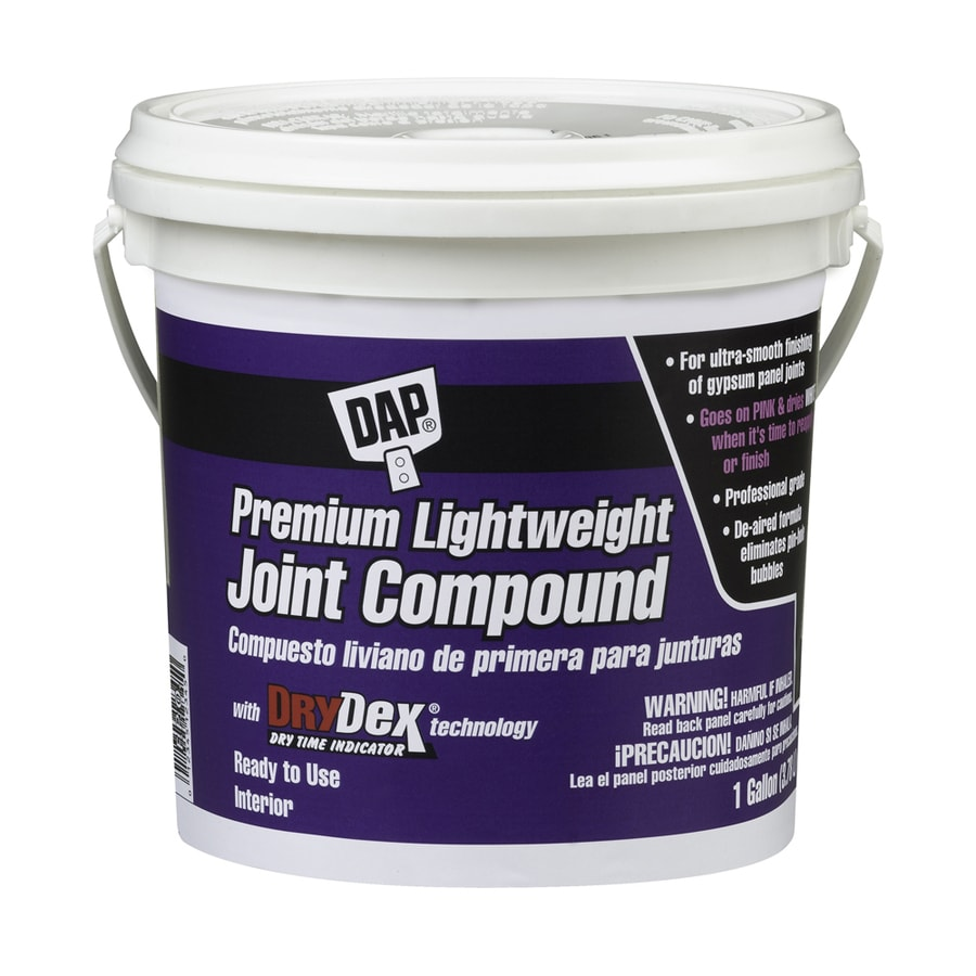 Shop dap drydex 1 gallon premixed lightweight drywall for Bathroom joint compound