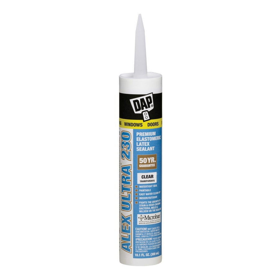 DAP 10.1-oz Clear Paintable Caulk