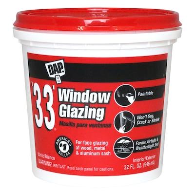 DAP 32-fl oz Off White Window Glazing Compound at Lowes com