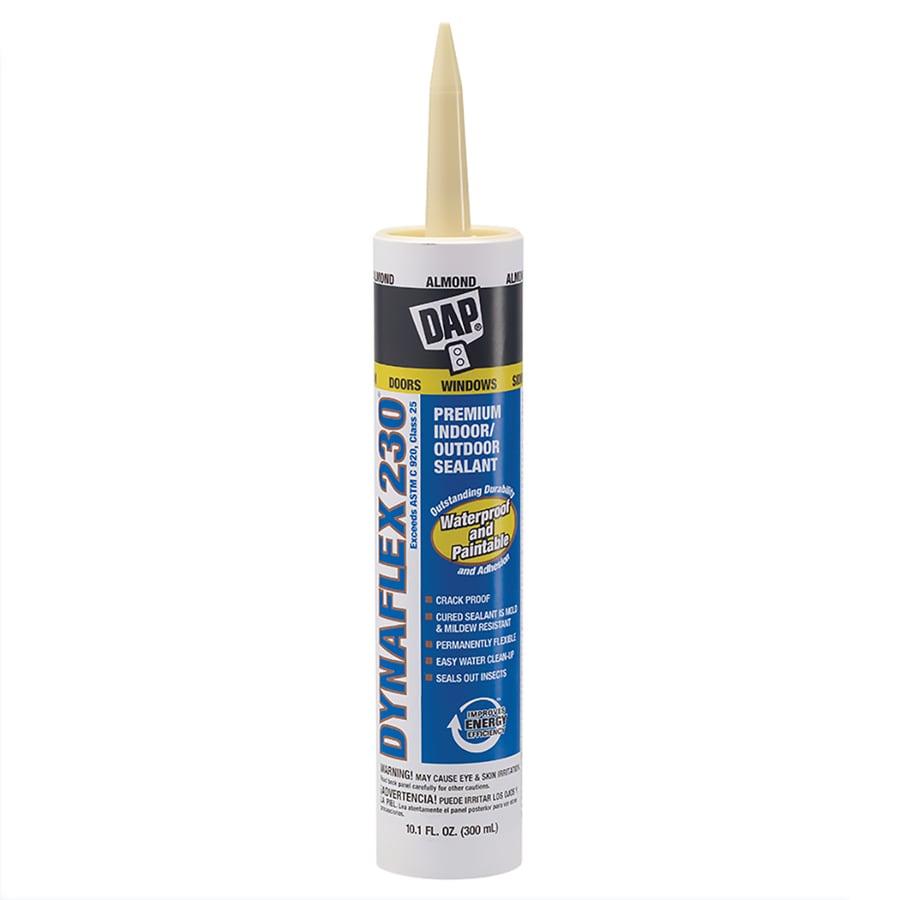 DAP DYNAFLEX 230 10.1-oz Almond  Paintable Latex Caulk