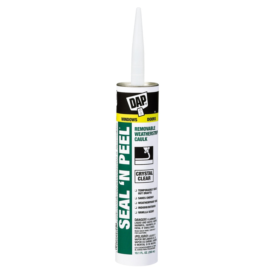 DAP Seal 'N Peal 10.1-oz Clear Caulk