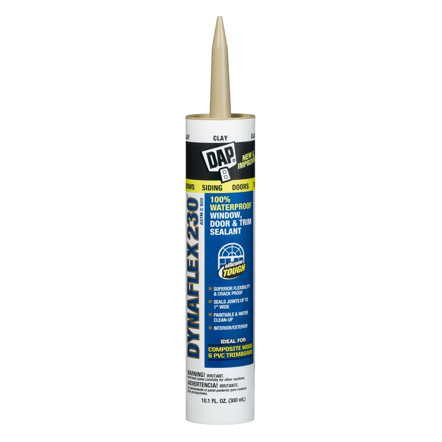 Dap Dynaflex 230 10 1 Oz Clay Paintable Latex Caulk At