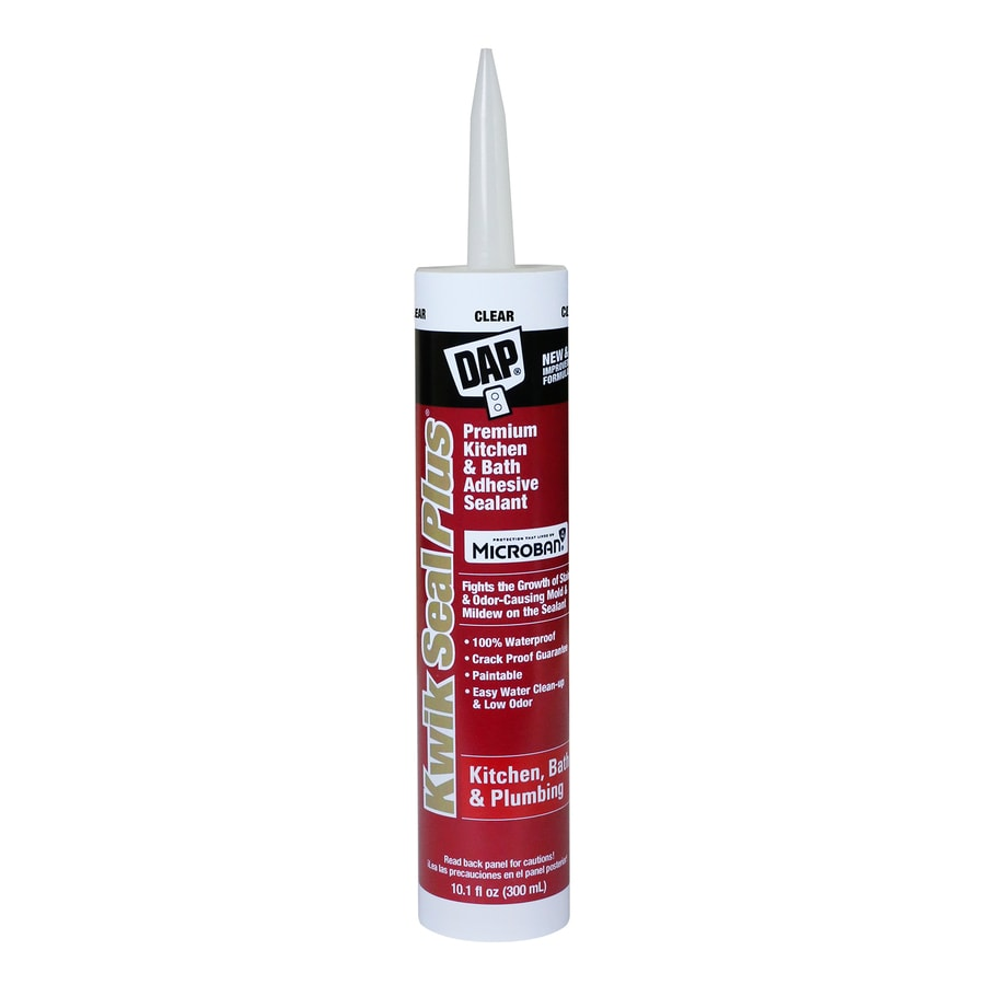 DAP 10.1-oz Clear Paintable Tub and Tile Latex Kitchen and Bathroom Caulk