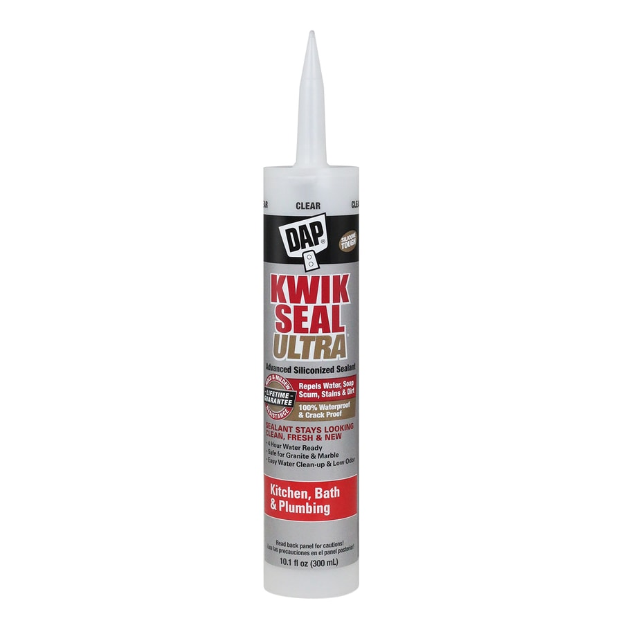DAP KWIK SEAL ULTRA 10.1-fl oz Clear  Latex Caulk