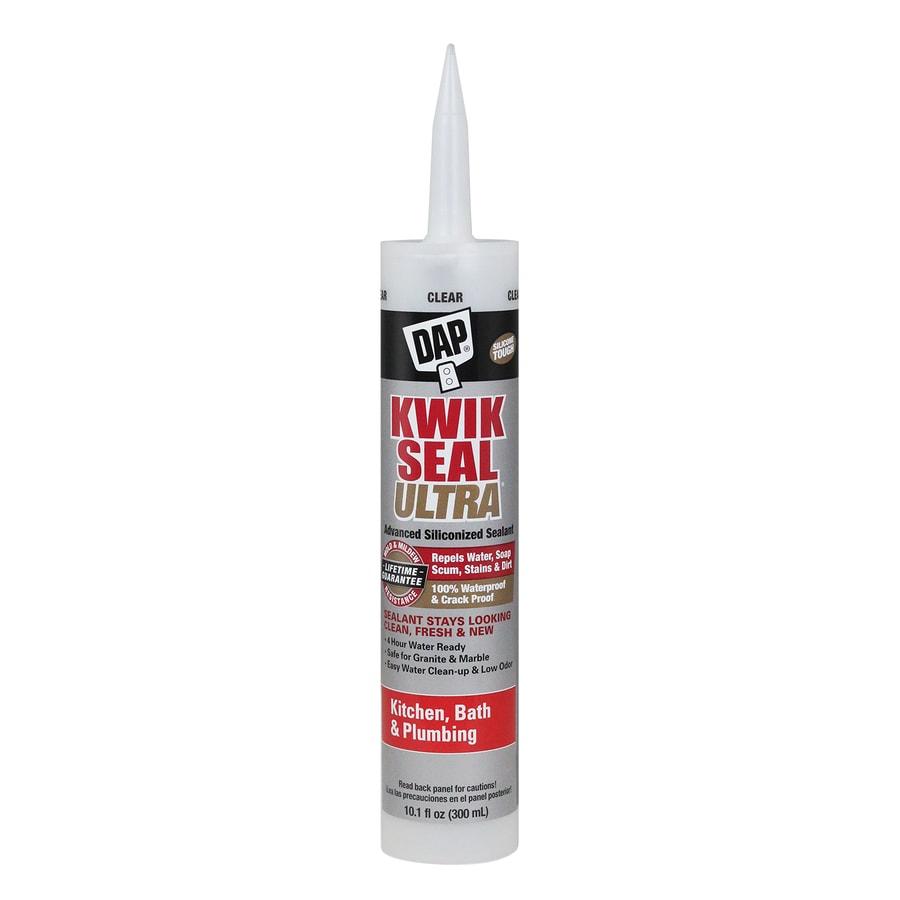 DAP Kwik Seal Ultra 10.1-fl oz Clear Latex Caulk