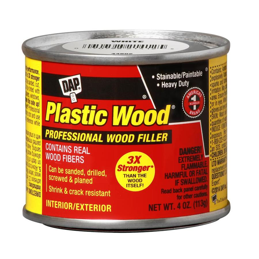 Shop Dap Plastic Wood 1 4 Oz White Wood Filler At Lowes Com