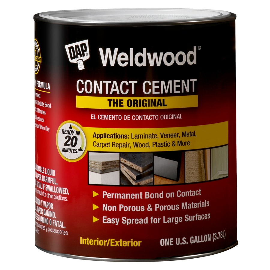 DAP Weldwood Off-White Interior/Exterior Concrete & Masonry Construction Adhesive (Actual Net Contents: 128-fl oz)