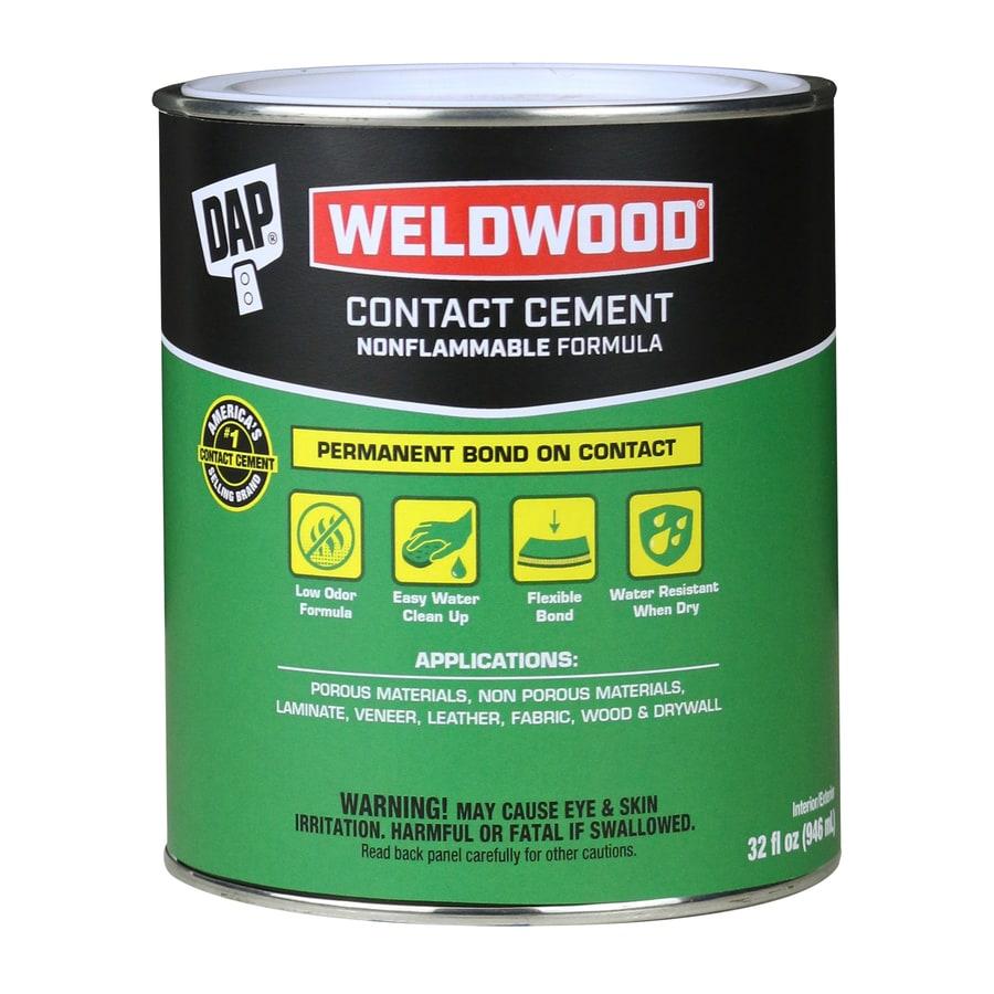 DAP Weldwood Nonflammable Contact Cement