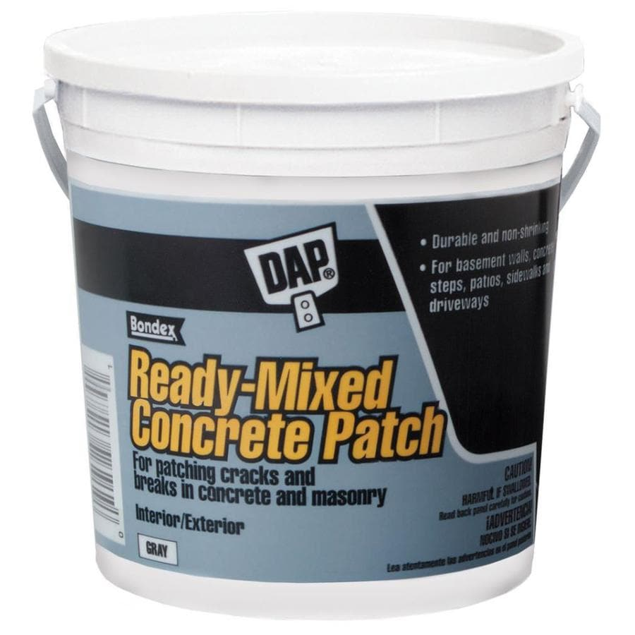DAP 128-oz Gray Concrete Patch
