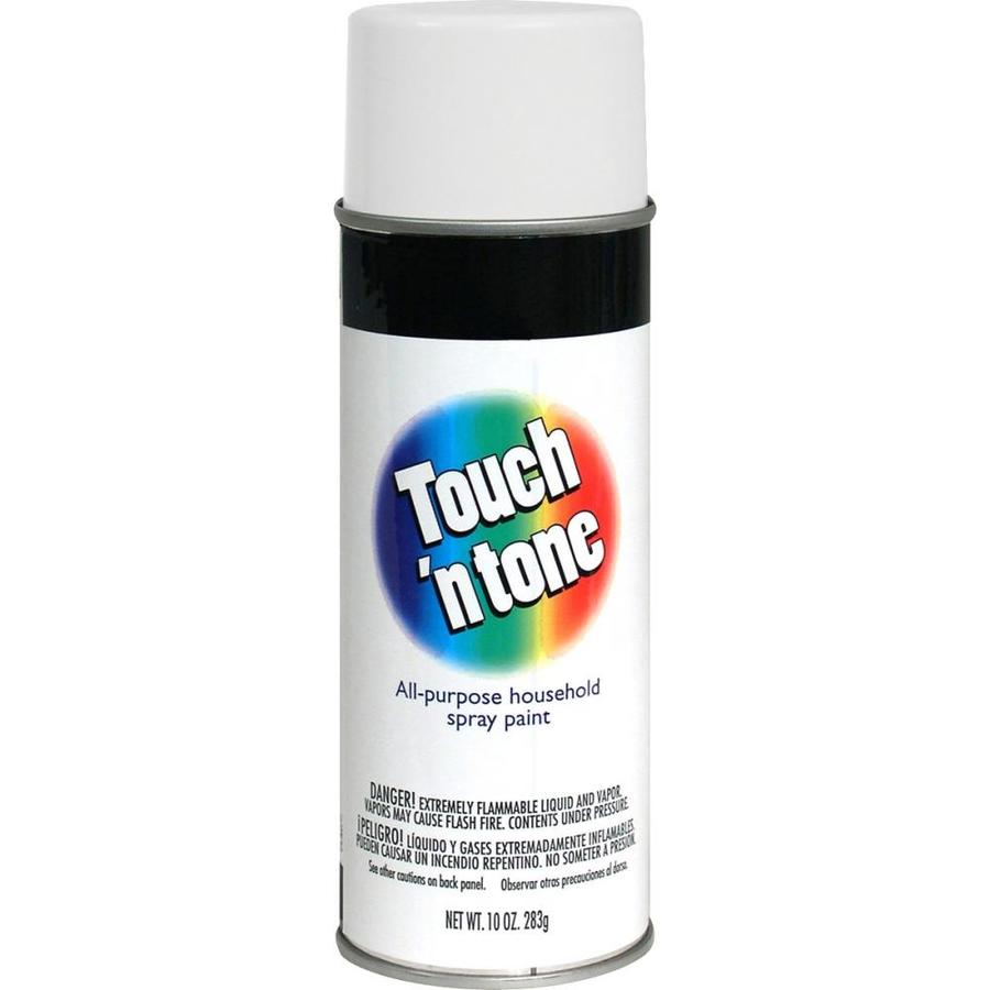 Rust-Oleum Touch N Tone White Fade Resistant Enamel Spray Paint (Actual Net Contents: 10-oz)