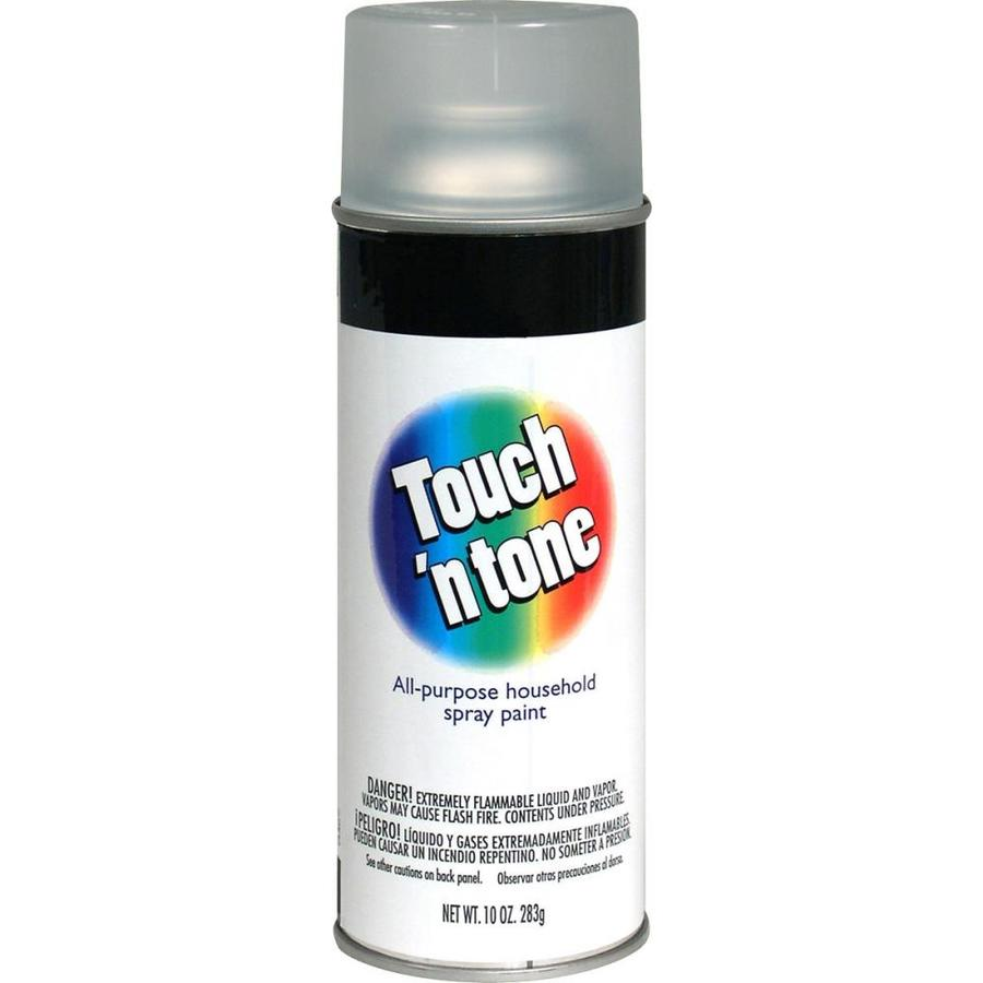 Rust-Oleum Touch N Tone Clear Fade Resistant Enamel Spray Paint (Actual Net Contents: 10-oz)