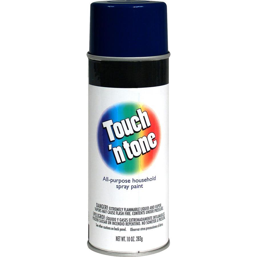 Rust-Oleum Touch N Tone Dark Blue Enamel Spray Paint (Actual Net Contents: 10-oz)