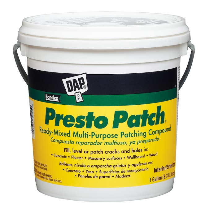 Dap Presto Patch 128 Oz White Patching Compound In The Patching Spackling Compound Department At Lowes Com