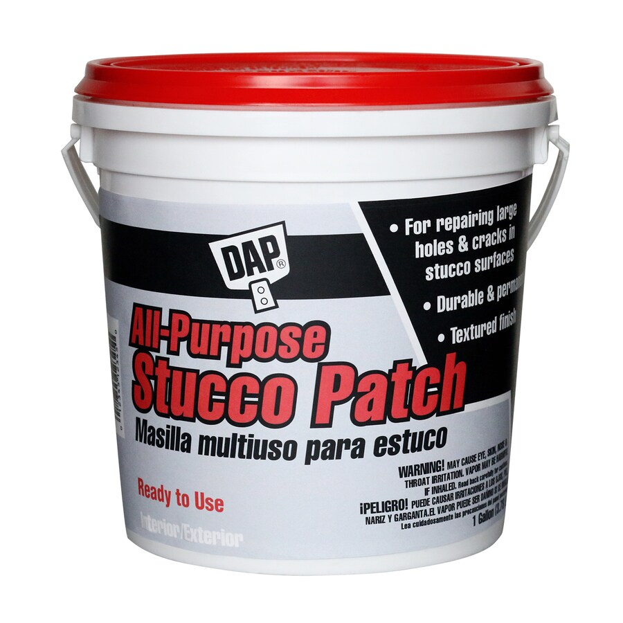 DAP 168-oz White Stucco Patch
