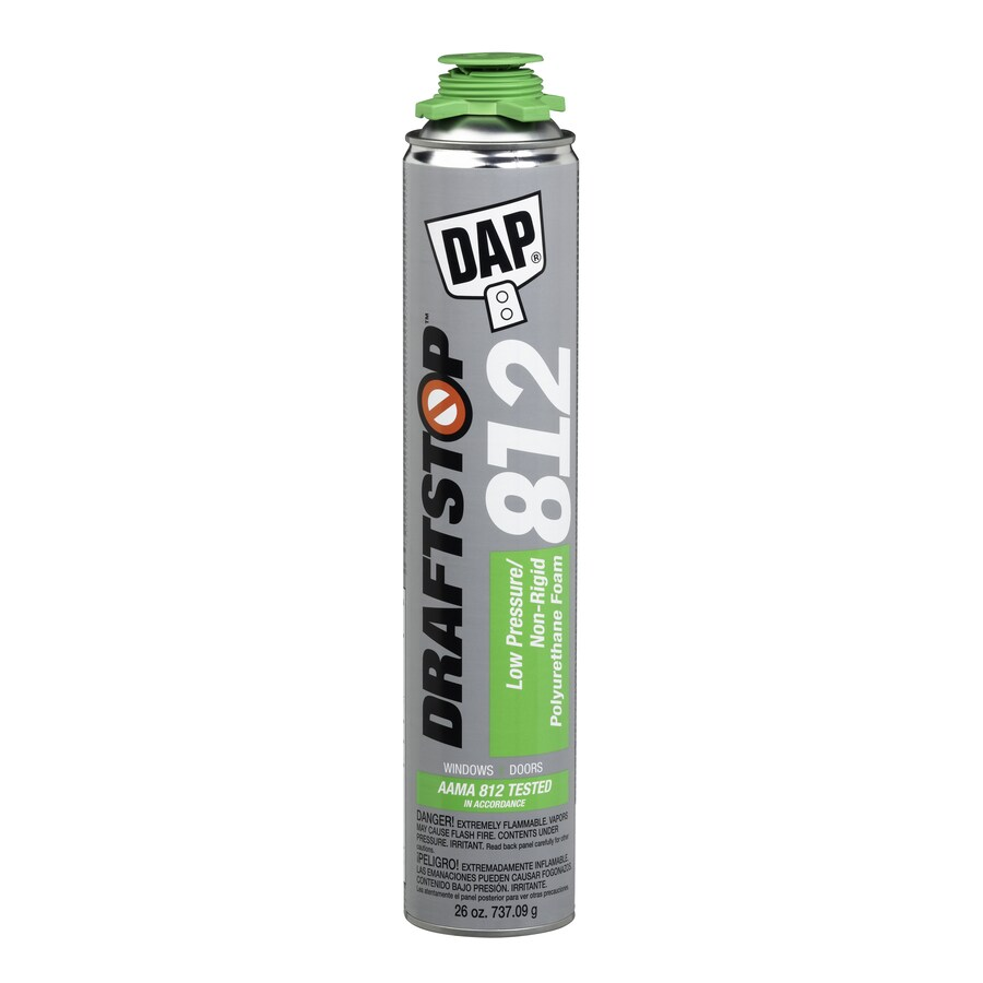 DAP DRAFTSTOP 812 26-fl oz Spray Foam Insulation