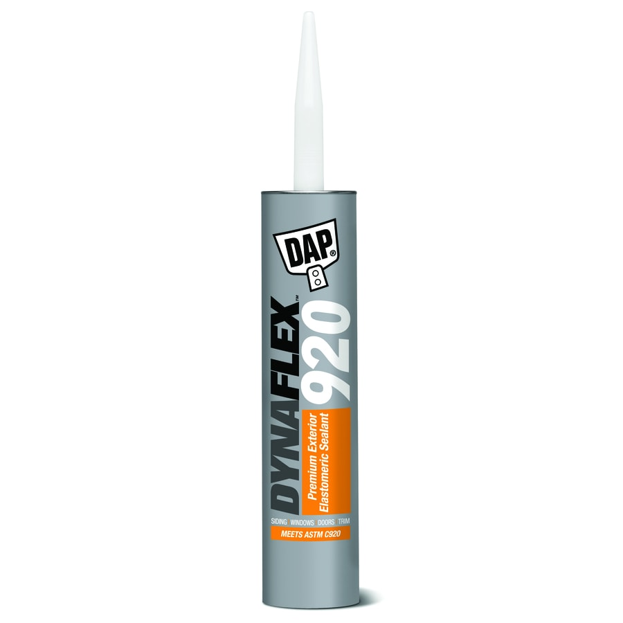 Grey Kitchen And Bath Caulk: Shop DAP DYNAFLEX 920 10-oz Night Gray Paintable Solvent