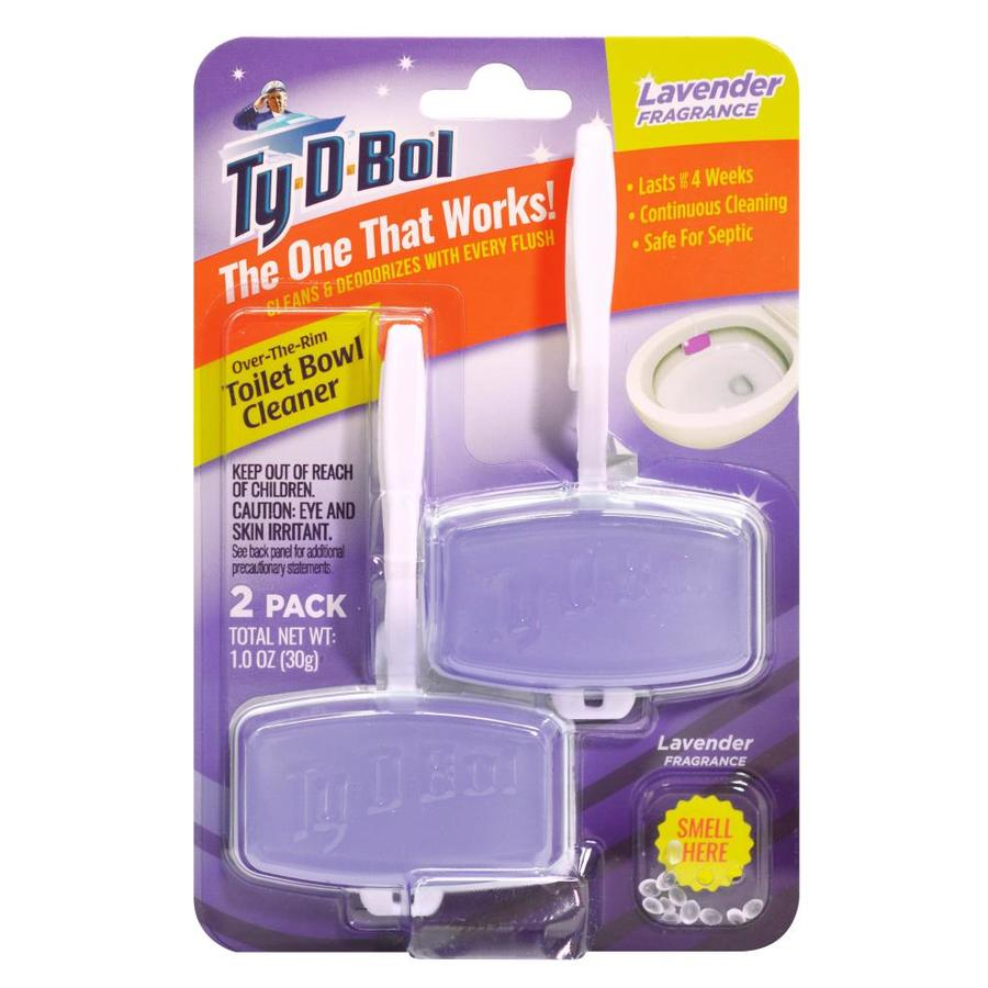 Ty-D-Bol 2 Count Lavender Toilet Bowl Cleaner