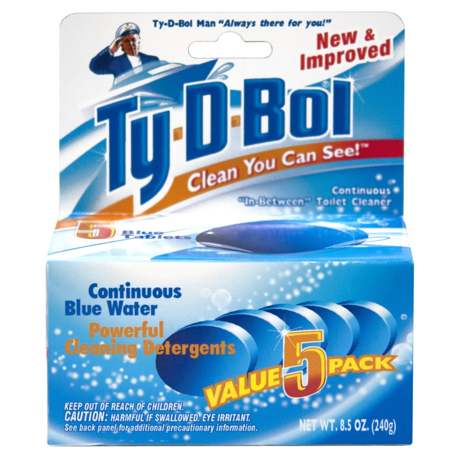 Ty-D-Bol 5-Count Toilet Bowl Cleaner