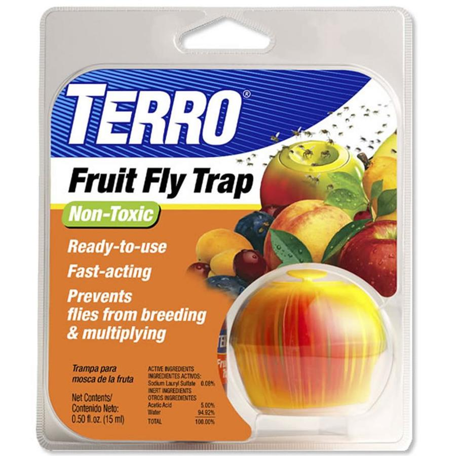 shop terro 0.5-fl oz disposable fruit fly trap at lowes