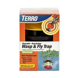 TERRO Reusable Wasp & Fly Trap