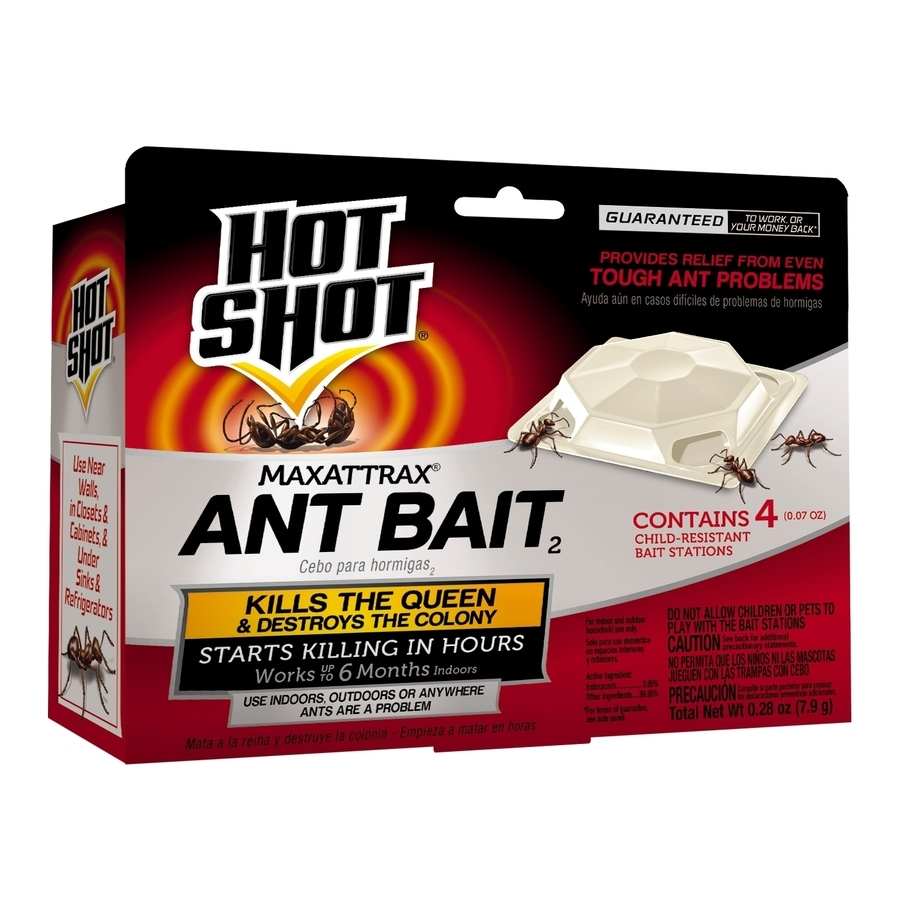 Hot Shot MaxAttrax 4-Count Ant Bait Station