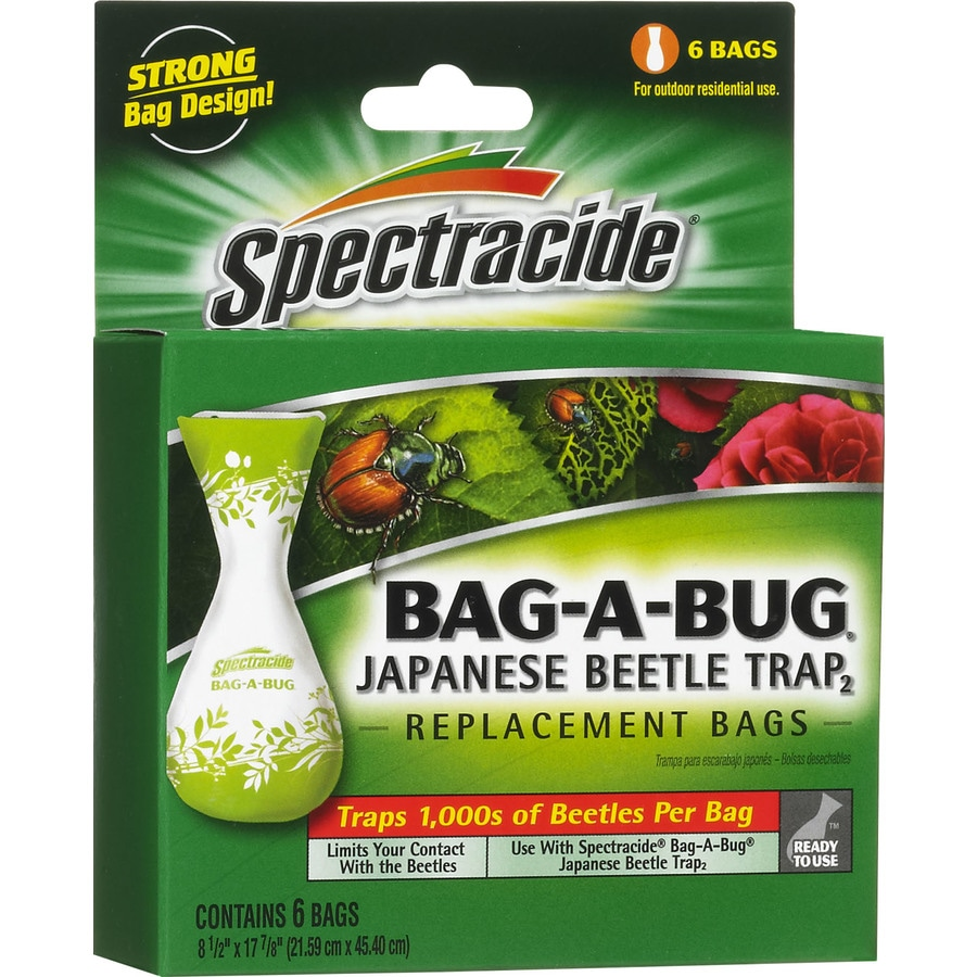 Spectracide Bag-A-Bug Japanese Beetle Trap Disposable Bags