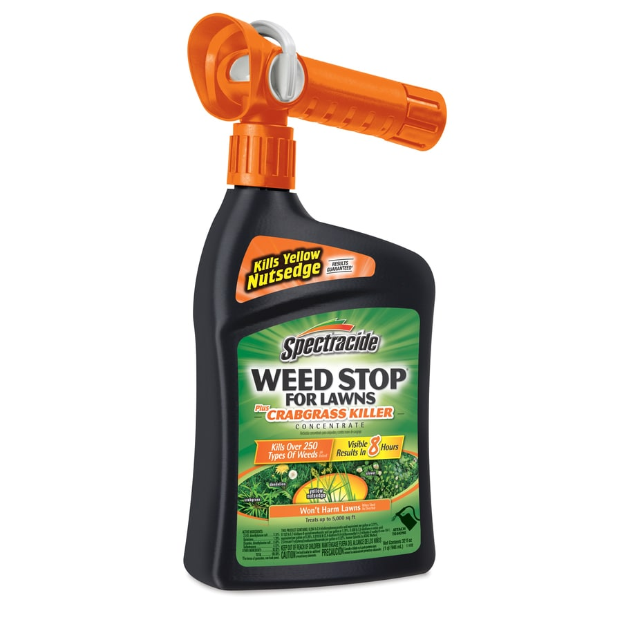 Spectracide Weed Stop for Lawns 32 fl oz Weed Killer Plus Crabgrass Control