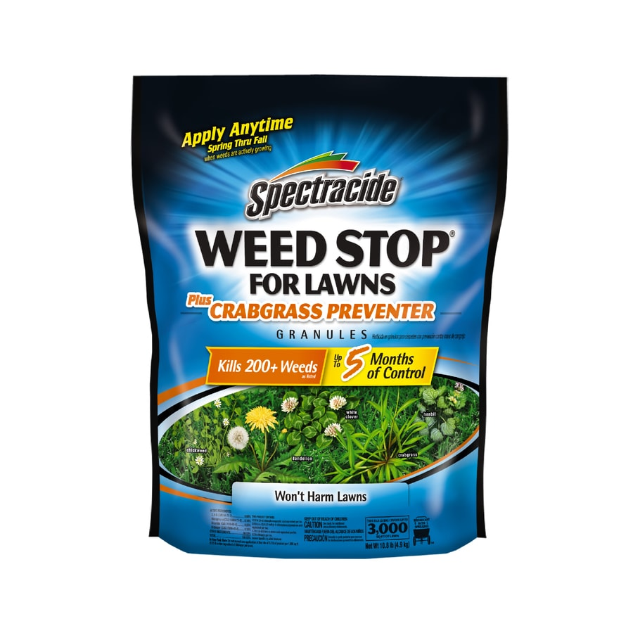 Spectracide Weed Stop for Lawns 10 Pound(S) Weed Killer Plus Crabgrass Control