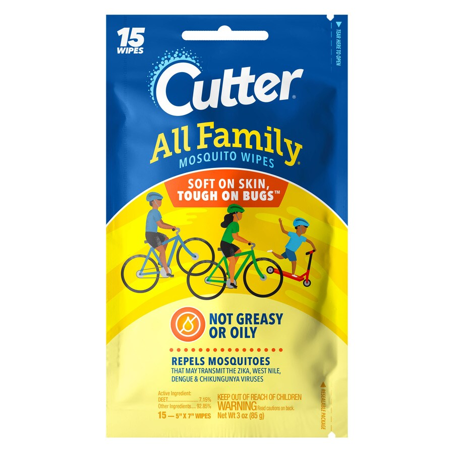Cutter All Family 15-Count Mosquito Repellent